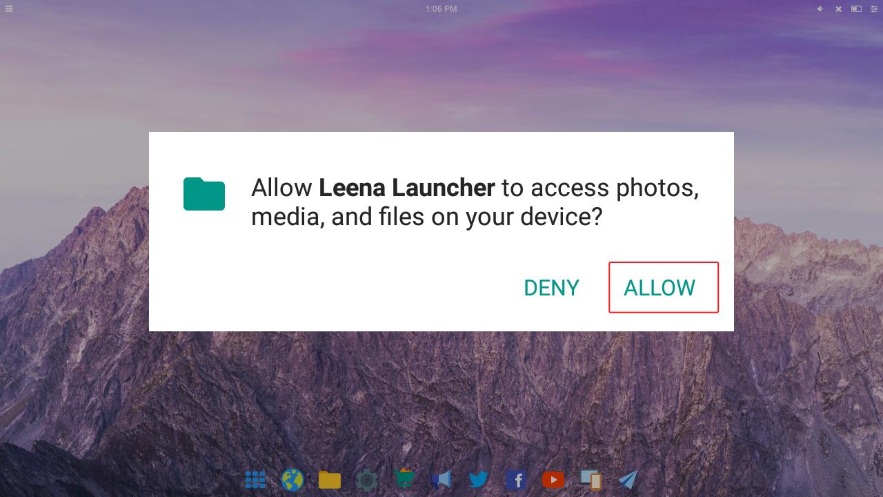 Using Leena Desktop UI