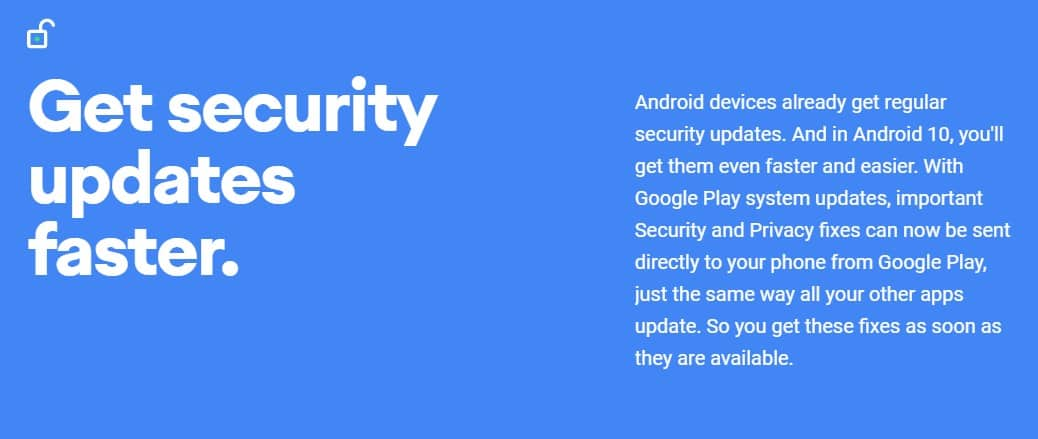 Security Updates From The Play Store