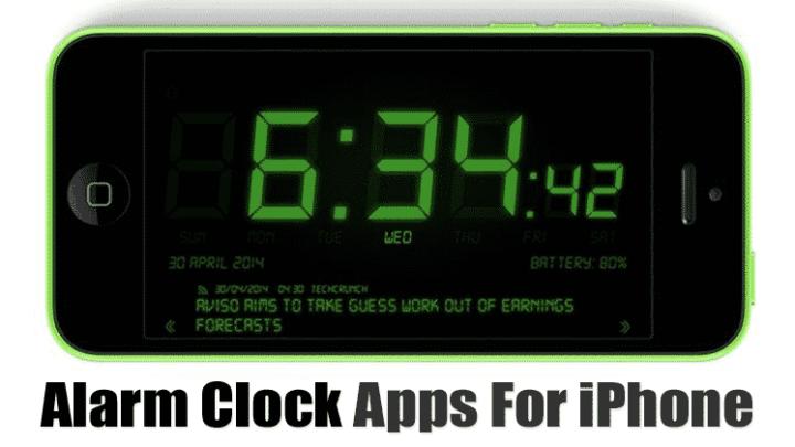 Top 10 Best Alarm Clock Apps For iPhone