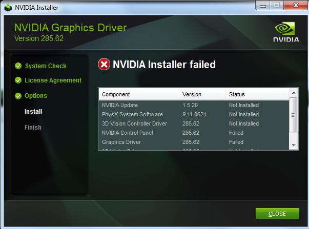 How to Fix Nvidia Installer Failed Issue Windows 10