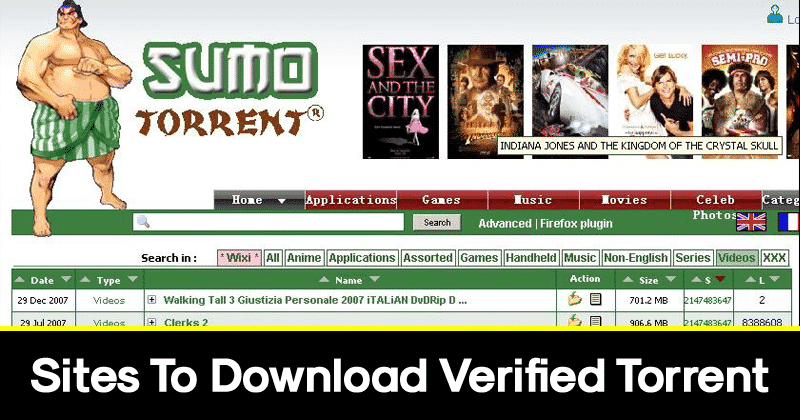 10 Sites To Download Verified Torrent