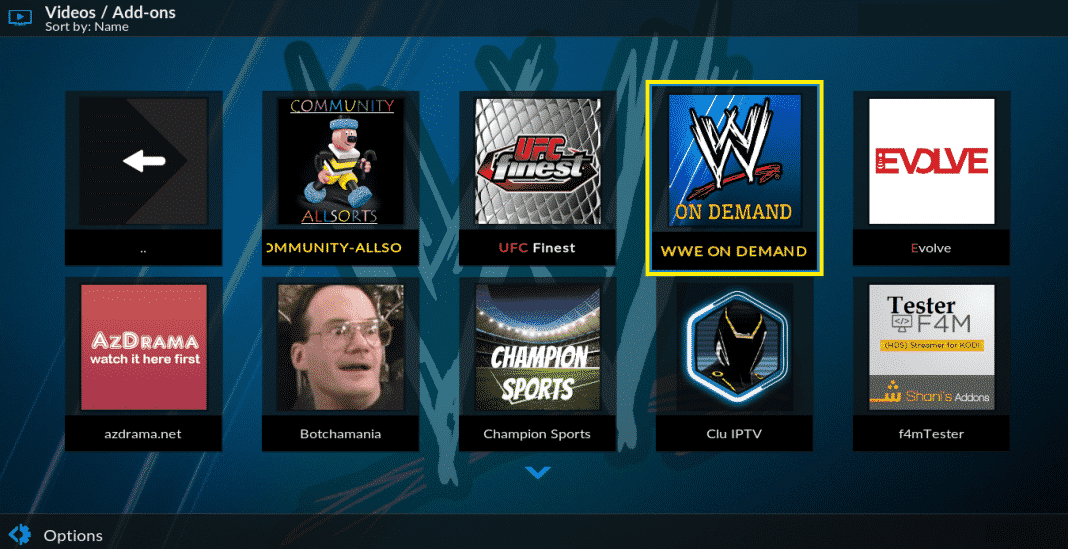 WWE On Demand