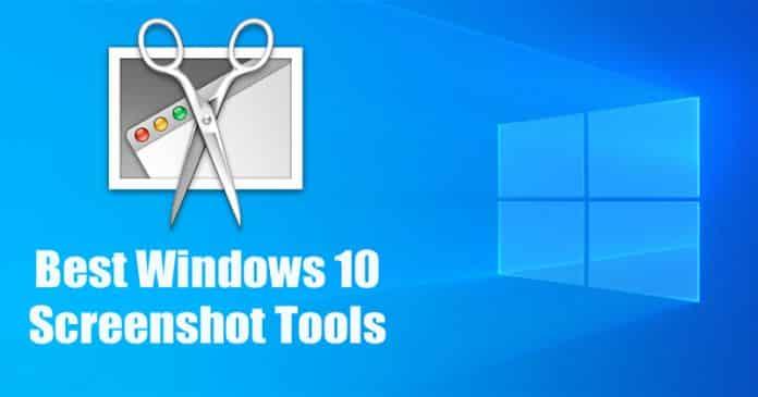 Best Windows 10 Screenshot Tools 2019