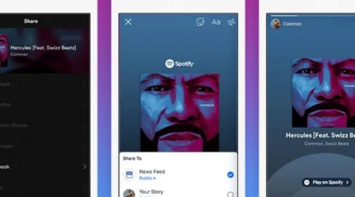 Spotify Now Lets You Share Songs to Facebook Stories