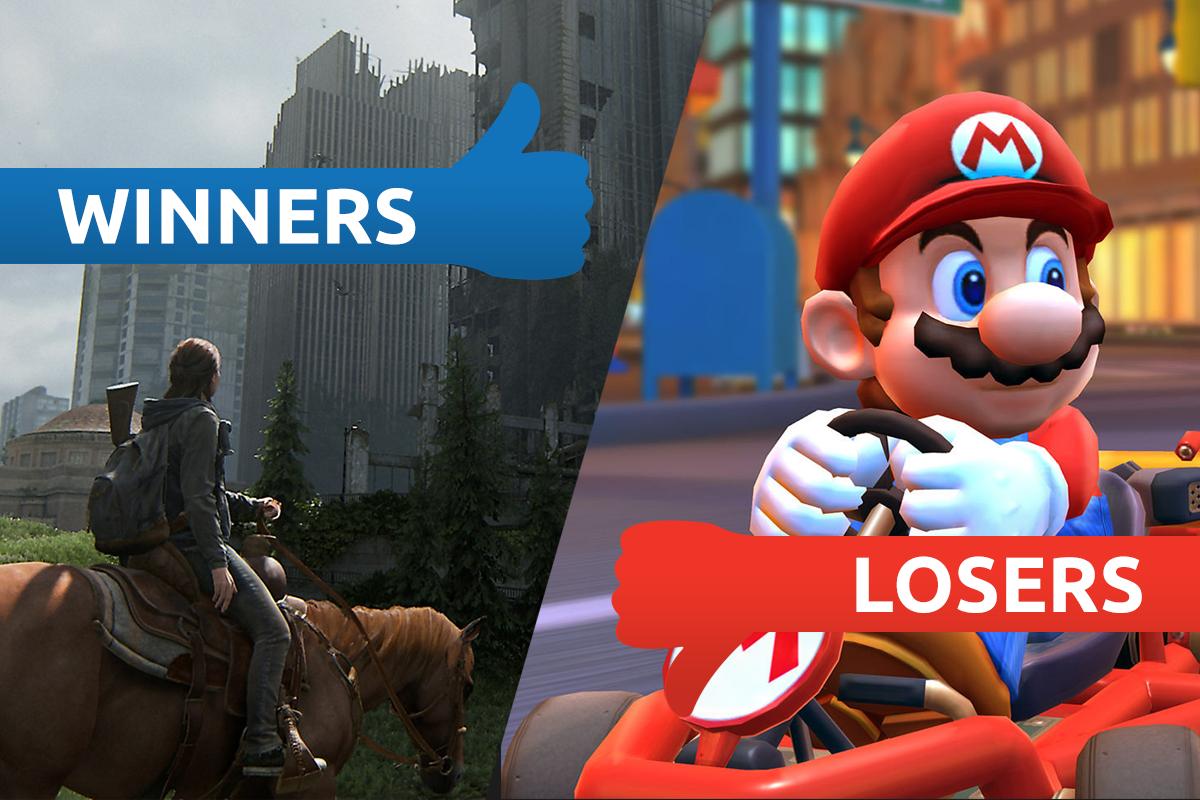 Winners & Losers: The Last of Us 2 makes a bloody splash as Mario Kart Tour ignites fan fury