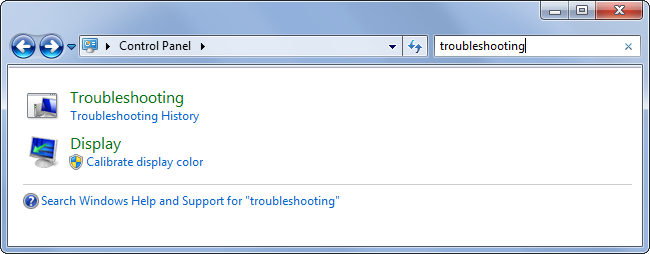 Windows Power-Troubleshooter