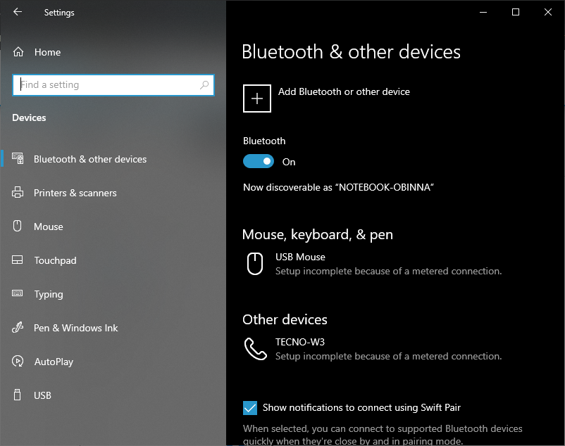 How to check if Windows 10 PC has built-in Bluetooth