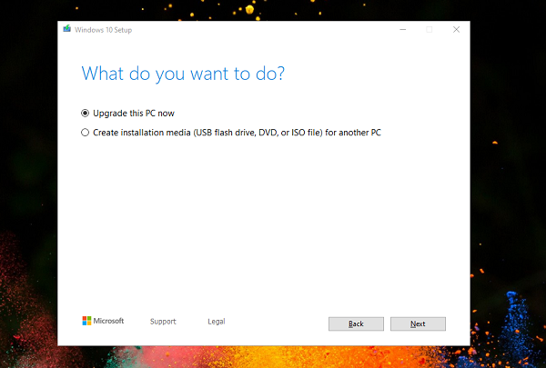 How to perform Windows 10 in-place upgrade