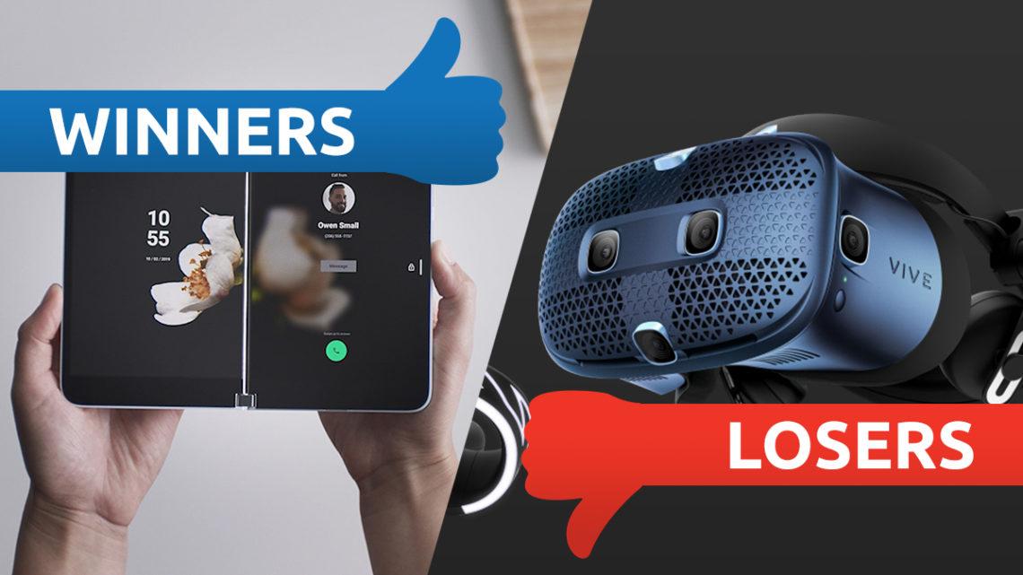 Microsoft's fab foldable and Vive's VR headache