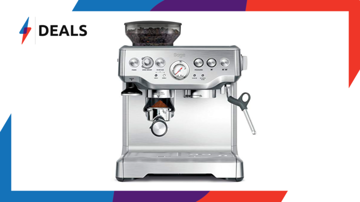 Amazon beats AO's Black Friday deal on the Sage Express coffee machine