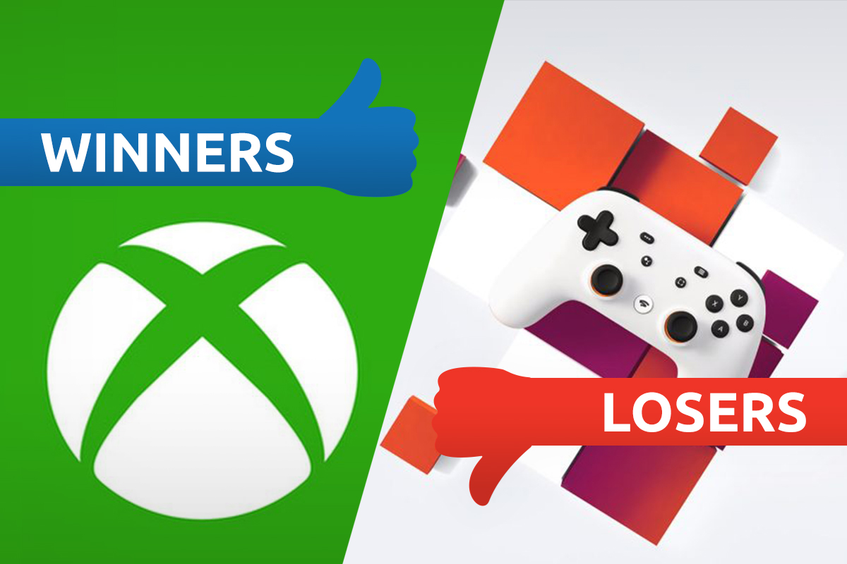 Winners and Losers: Xbox sits on cloud nine as Stadia falls down stream