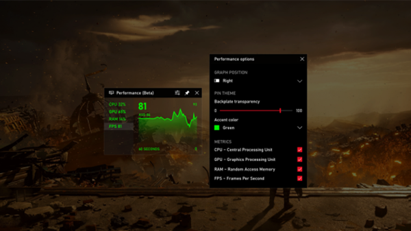 How to turn on & use Frames Per Second (FPS) counter on Windows 10