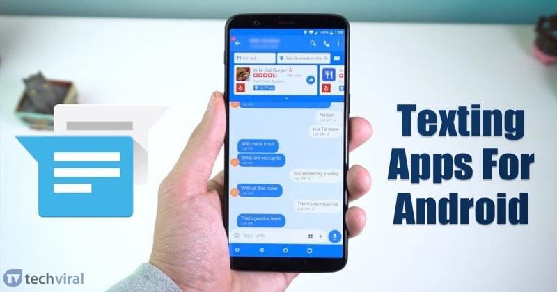 15 Best Texting & SMS Apps For Android