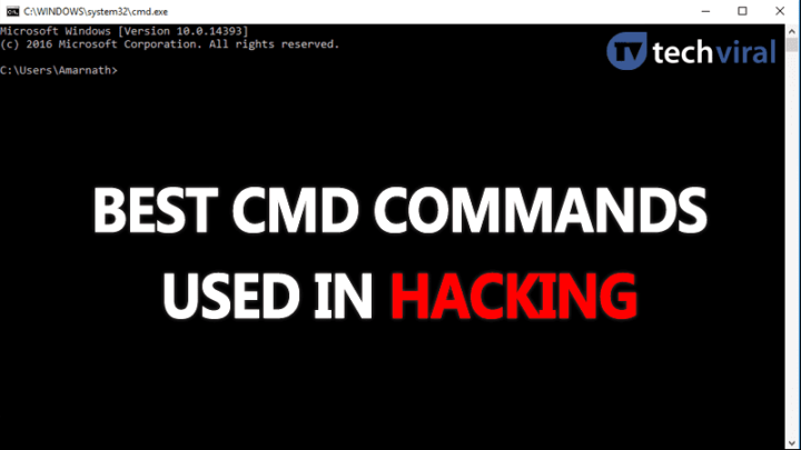 Top 15 Best CMD Commands Used In Hacking (2019)