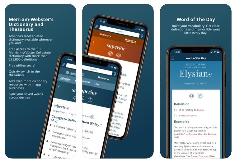 Merrian - Webster Dictionary