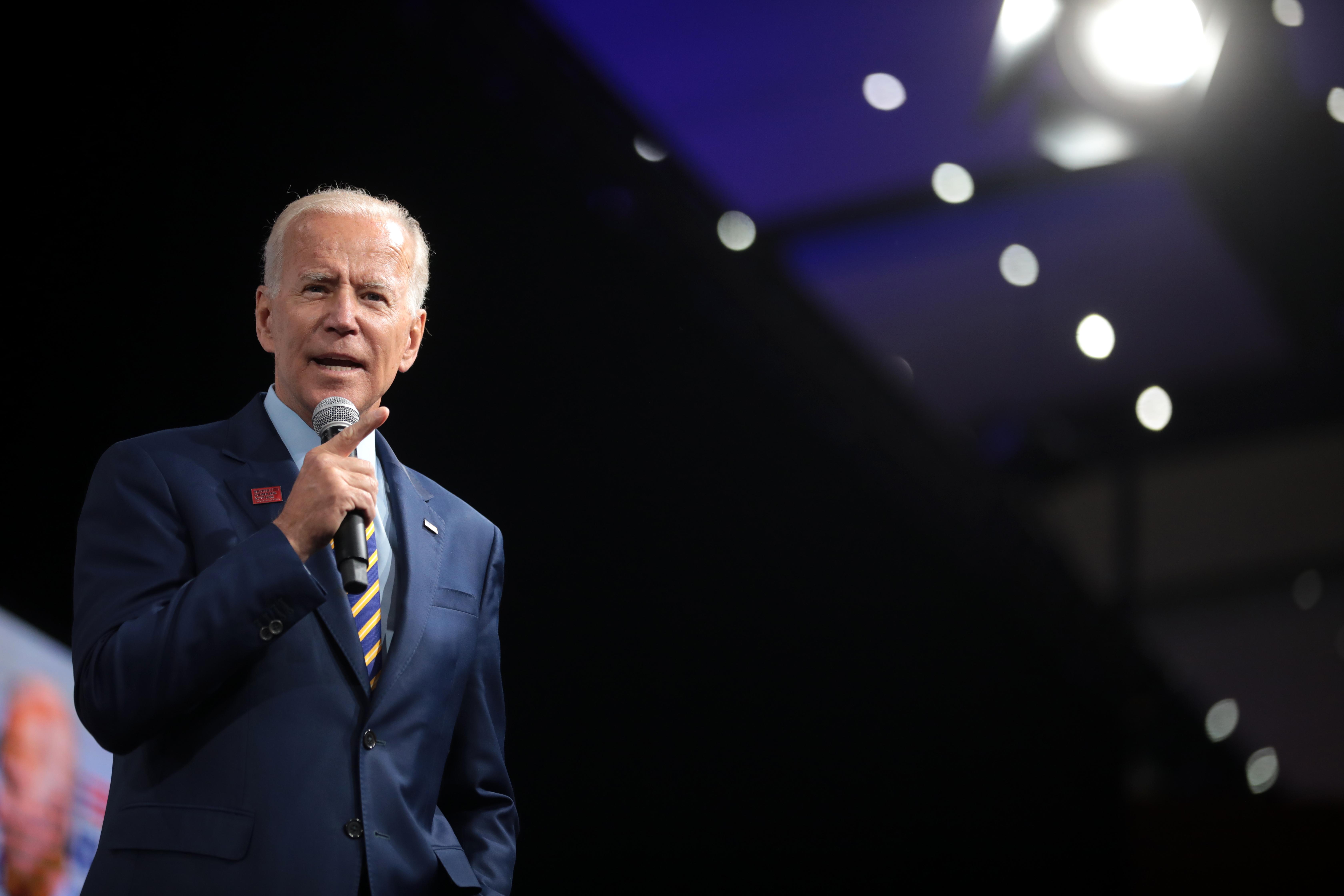 """Joe Biden calls out """"creeps"""" in Silicon Valley — """"I've never been a big Zuckerberg fan"""""""