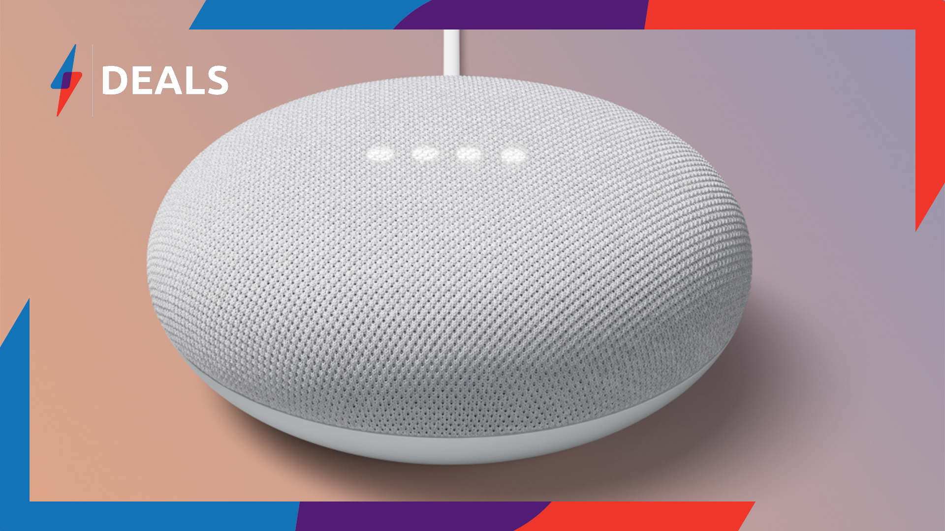 Get a free Philips Hue bulb in this Google Nest Mini smart home bundle