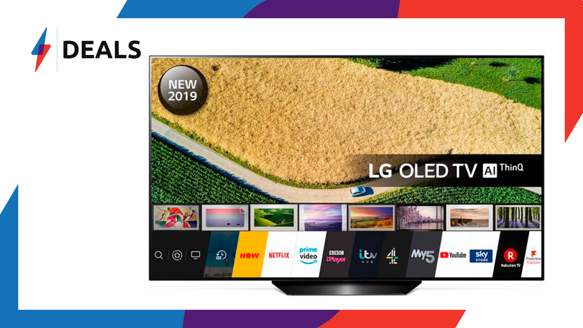 Save a massive £200 with this 55″ LG OLED TV price drop