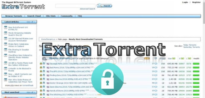 Extratorrent Proxy/Mirror Sites and Extratorrent Alternatives to Unblock