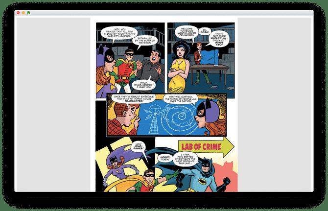 Astonishing Comic Reader
