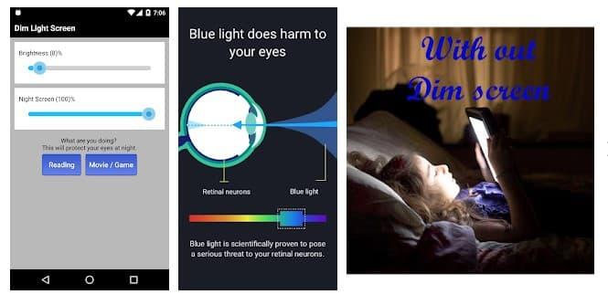 Dim Light Screen
