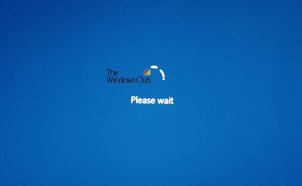 Windows 10 stuck on Please wait screen