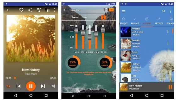 Music Player HD+ Equalize