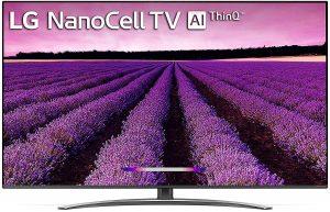 LG 139 cm (55 inches) 4K Ultra HD Smart NanoCell TV 55SM8100PTA