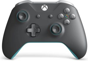 Xbox Wireless Controller - Grey And Blue by Microsoft