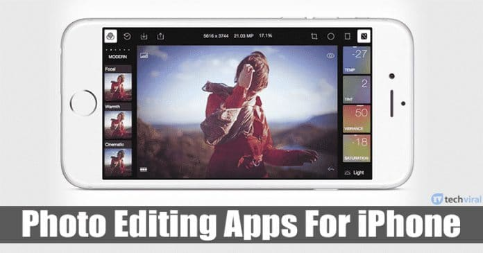 15 Best Photo Editing Apps For iPhone in 2020