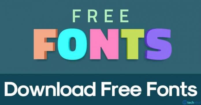 20 Best Free Fonts Download Websites in 2020