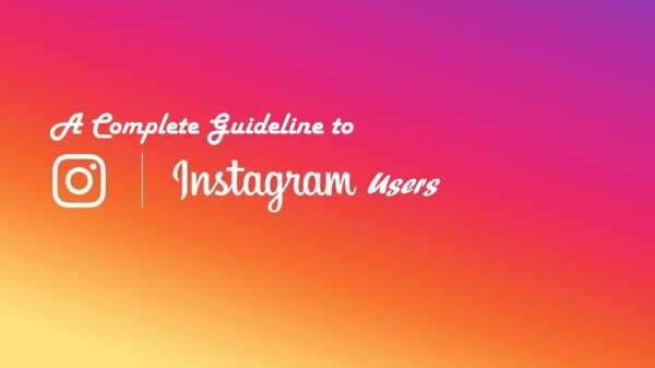 Instagram Guideline