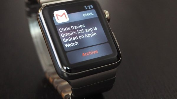 Gmail on Apple Watch