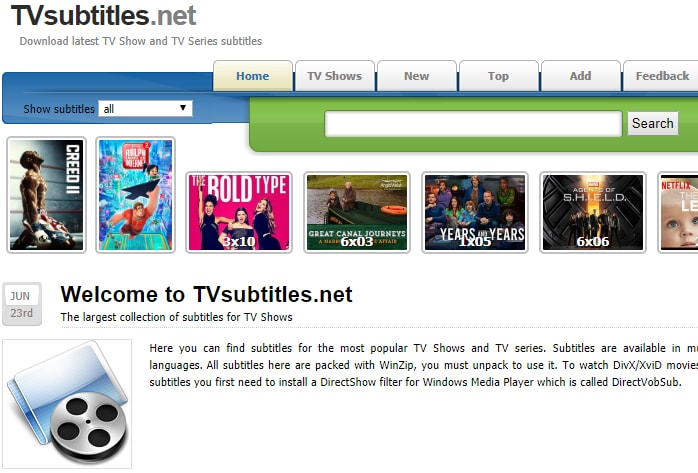 sites to download subtitles for movies