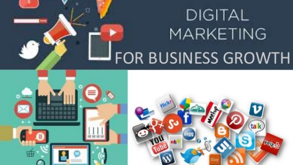 customer growth with Digital Marketing,
