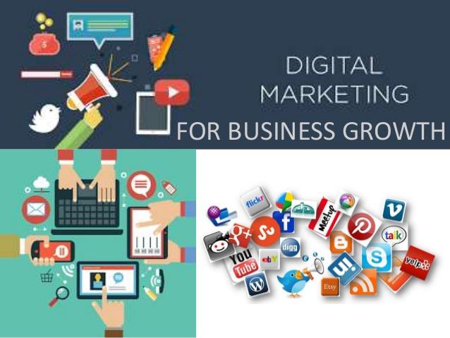 customer growth with Digital Marketing,