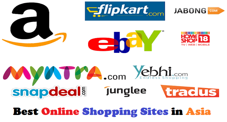 Online Shopping Sites in Asia