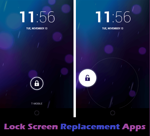 Lock Screen Replacement Apps
