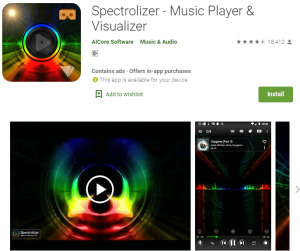 music visualizer online