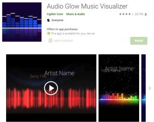 music visualizer free
