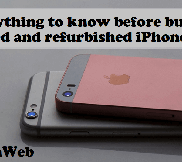 refurbished iPhones