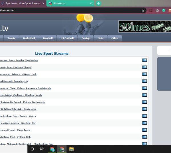 Sportlemon - Live Sport Streams Online